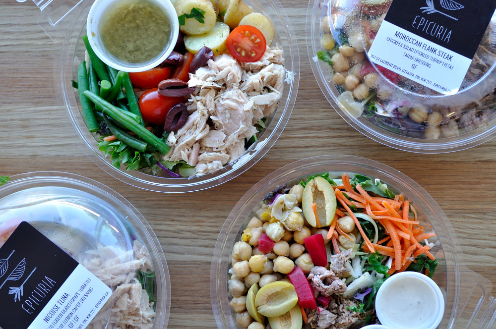 New Protein Salads - Epicuria Catering, Ottawa
